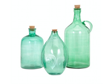 IMAX Corporation Accessories Lynne Glass Jugs - Set of 3