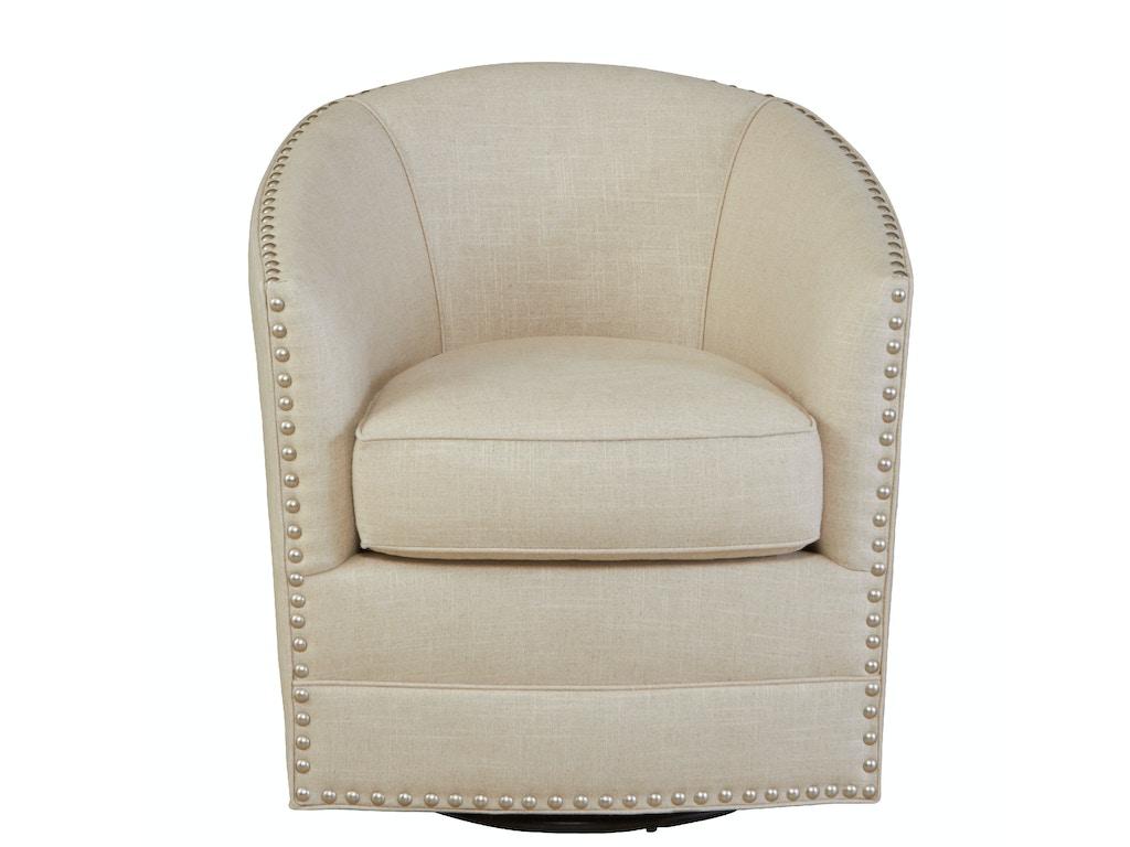 Southern Furniture Living Room Burke Swivel Chair 49949