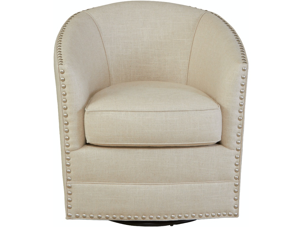 Southern Furniture Living Room Burke Swivel Chair 49949 Matter Brothers Furniture Fort Myers