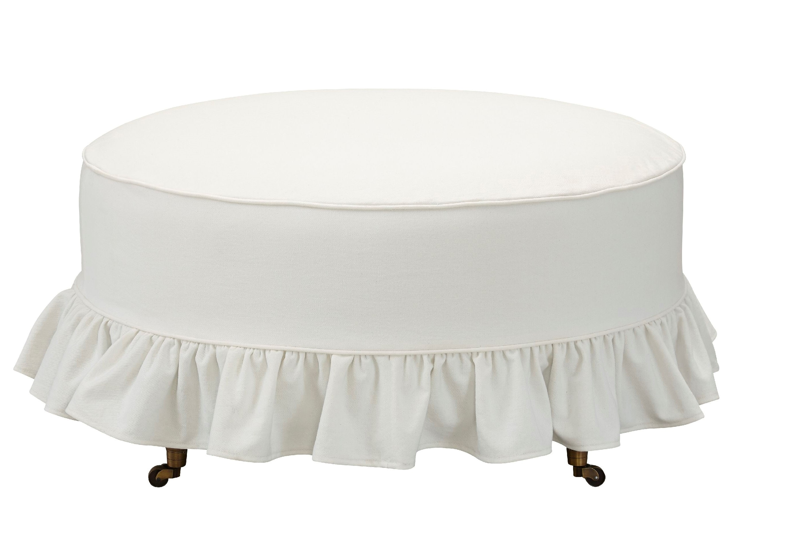 Stacy Select Abigal Slipcover Ottoman 13455