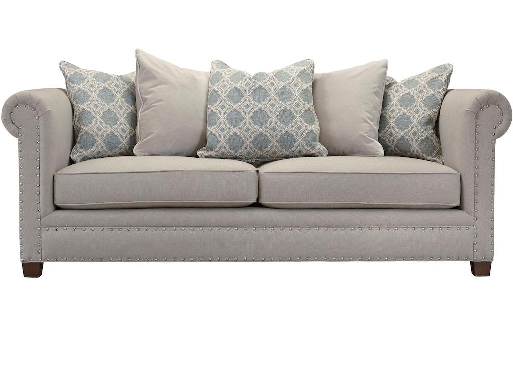 Southern Furniture Living Room Sadie Sofa 23461 Seville Home Leawood Kansas City Olathe