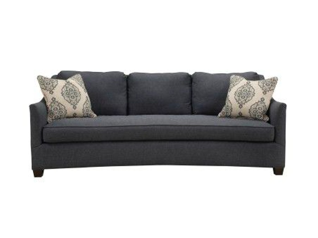 Southern Furniture Living Room Walden Sofa 25241 Seville Home Leawood Kansas City Olathe