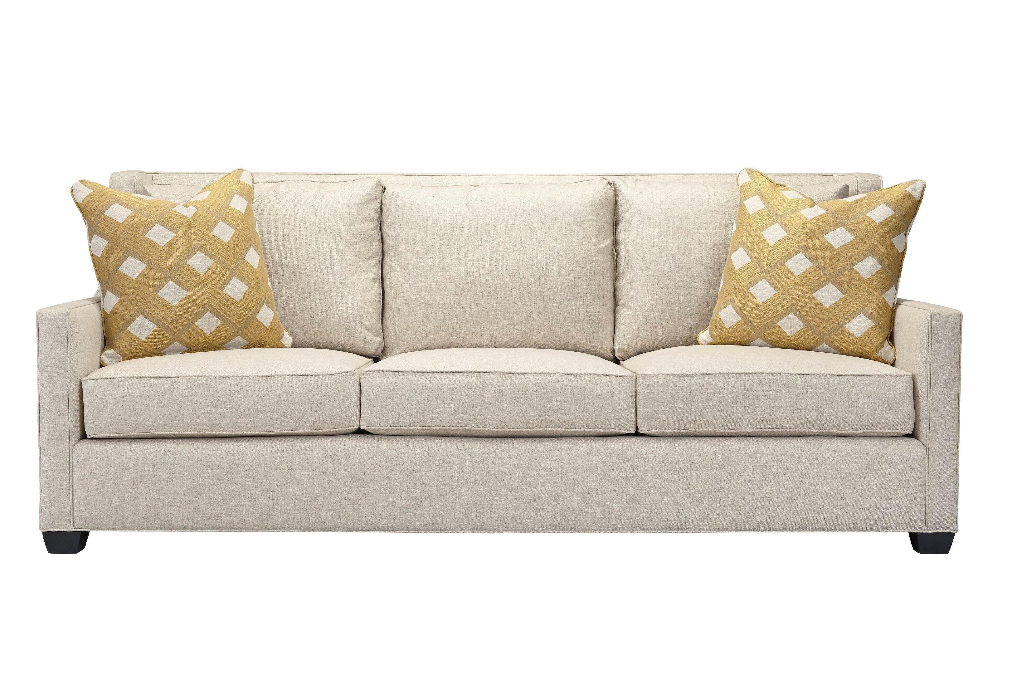 "Southern Furniture Living Room Salina 90"" 3over3"