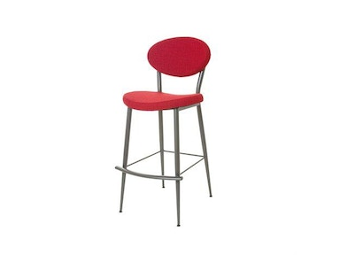 Amisco Bar and Game Room Opus Non Swivel Bar Height Stool