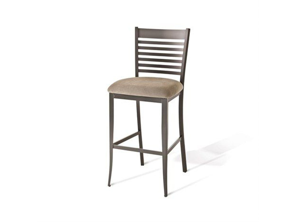 Amisco Bar and Game Room Edwin Non Swivel Counter Height Stool 40198 ...