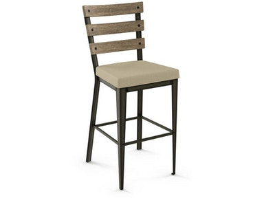 Amisco Bar and Game Room Non Swivel Stool