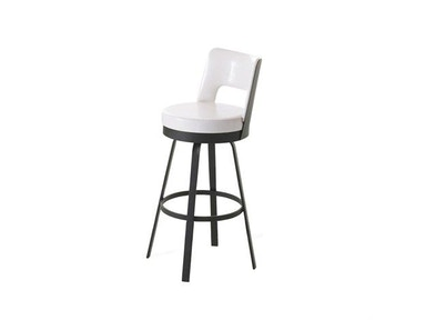 Amisco Bar and Game Room Brock Swivel Bar Height Stool