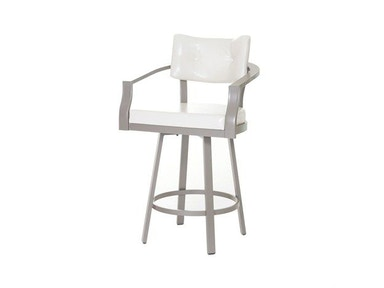 Amisco Bar and Game Room Jonas Swivel Bar Height Stool
