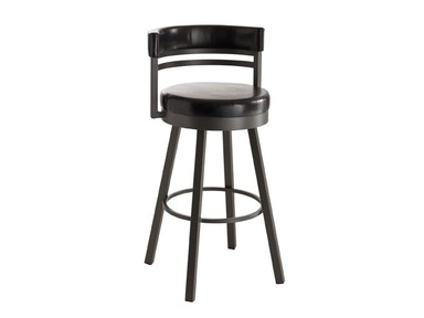 Amisco Bar and Game Room Ronny Swivel Bar Height Stool