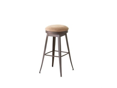 Amisco Bar and Game Room Grace Swivel Bar Height Stool
