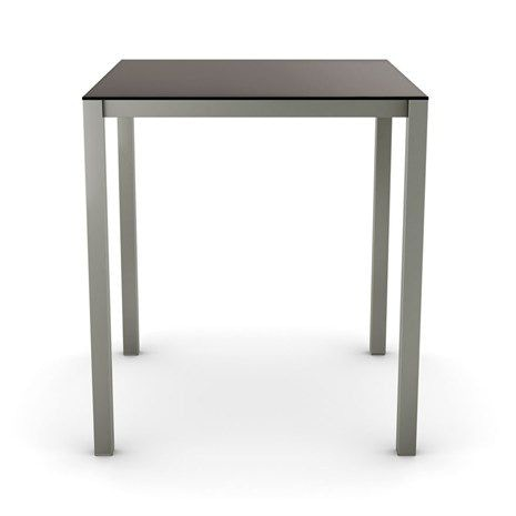 50962 36. Carbon Glass Counter Height Pub Table Base