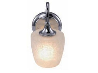 1lt Bath Vanity Crackle Frosted Glass