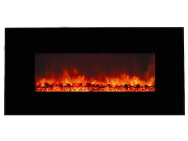 Yosemite Home Decor Carbon Flame 44 Fireplace