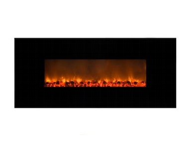 Yosemite Home Decor Carbon Flame 58 Electric Fireplace