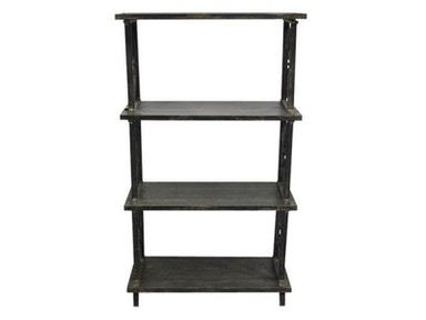 "Yosemite Home Decor Antique Black 60"" tall Metallic Shelf FCAA5132-1114KD"