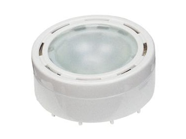 "2 5/8"" White Puck Light"