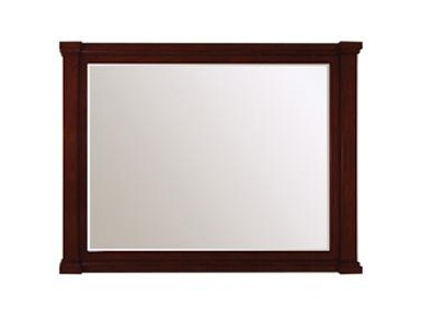 "32""w Antique Maple Vanity Mirror"