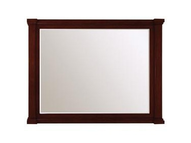 "48""w Antique Maple Vanity Mirror"