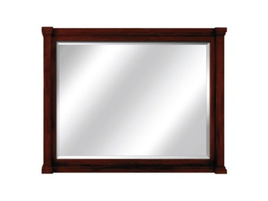 60 inch Vanity Mirror with Mahogany Finish