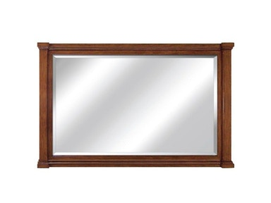 60 inch Vanity Mirror with brown finish