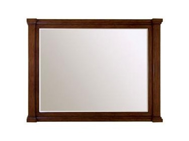 "Vanity Mirror 65"" Brown"