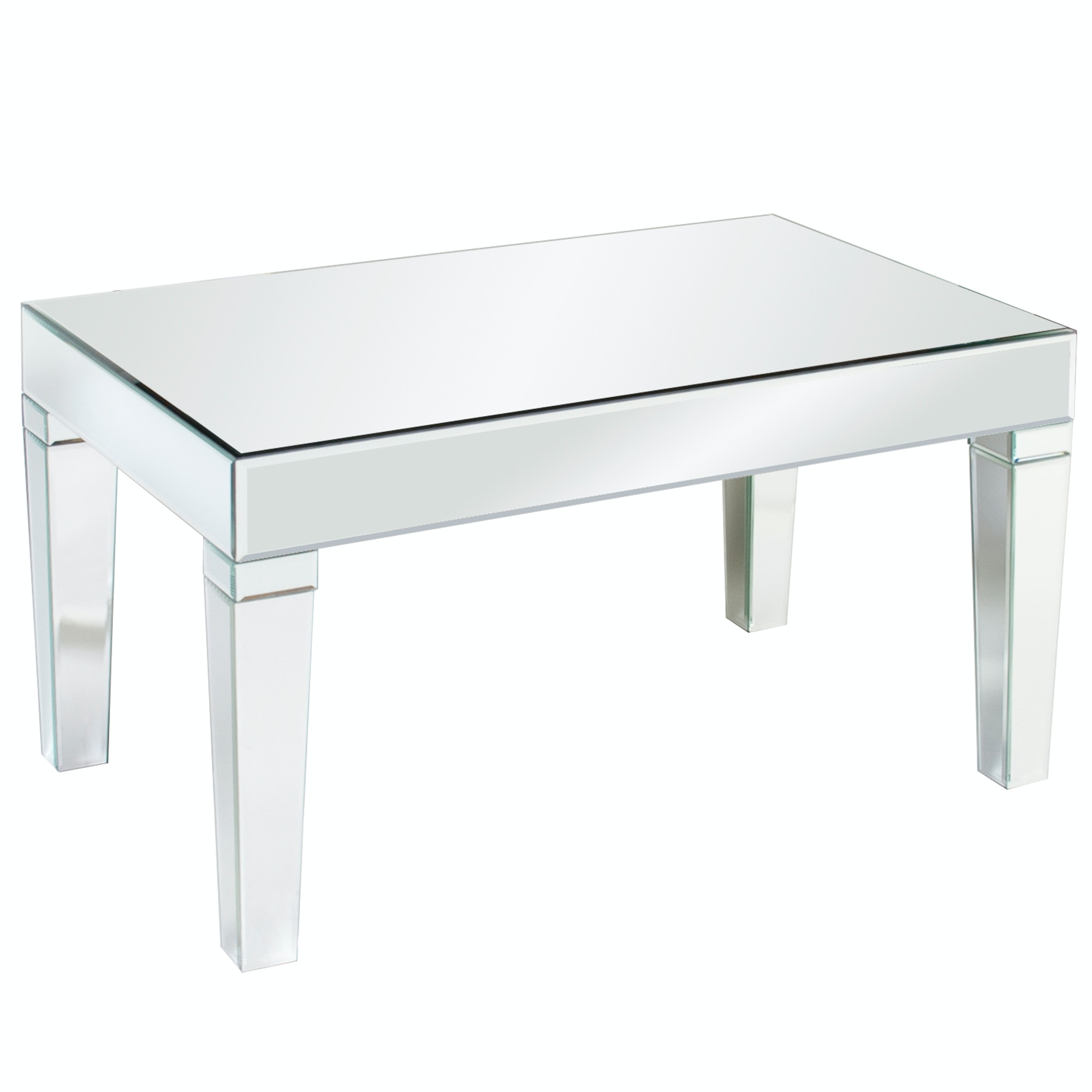 Howard Elliott Leo Mirrored Coffee Table 11095