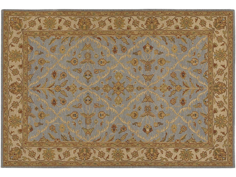 Chandra Rugs Hand-Knotted Rug POO437