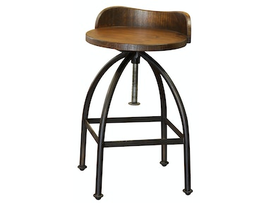 24-30 Inches Adjustable Height Swivel Stool