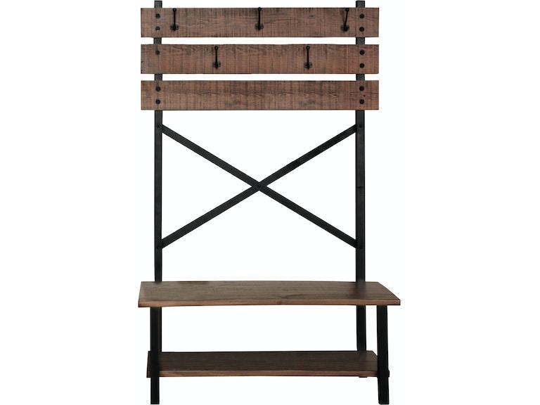 International Furniture Direct Hall Bench Ifd359hall T