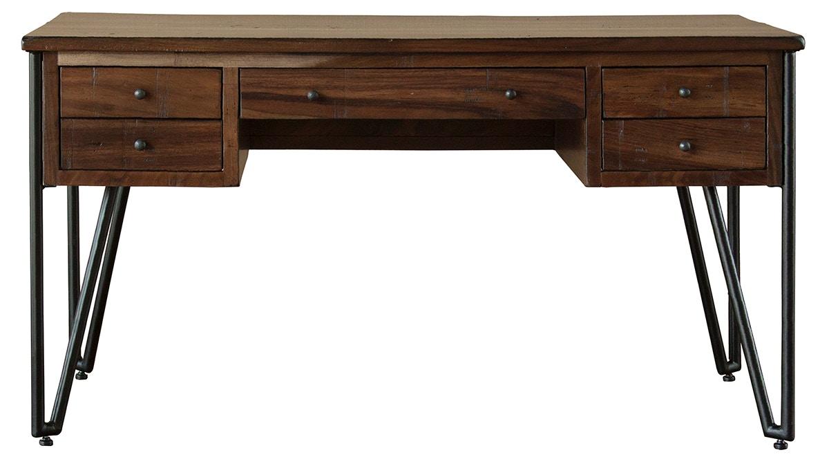 International Furniture Direct Home Office 5 Drawer Desk IFD864DESK At Morris  Furniture Company