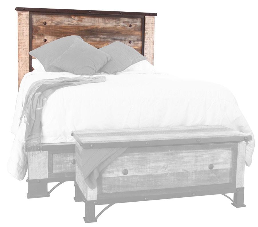 International Furniture Direct Bedroom 6/6 Headboard