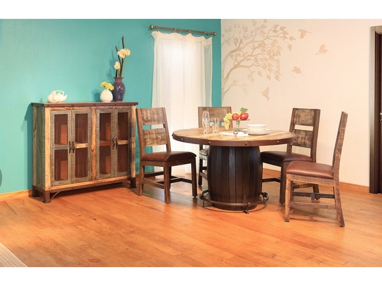 International Furniture Direct Dining Room Dining Table ...