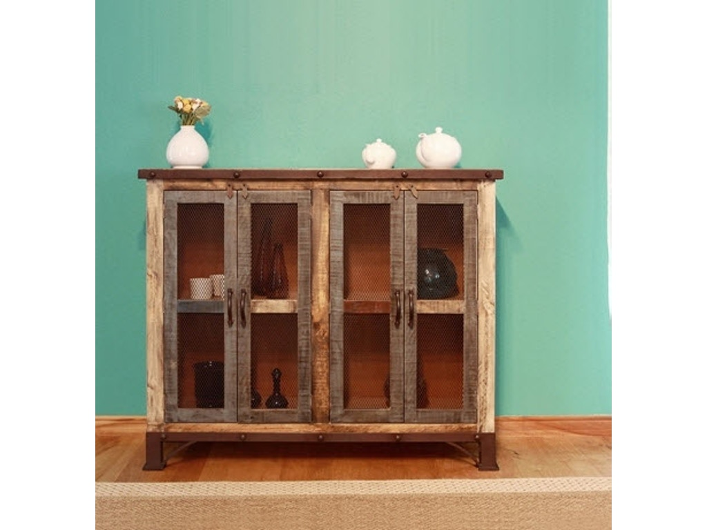 International Furniture Direct Living Room Multicolor Console Ifd969cons 4mc Great Deals On