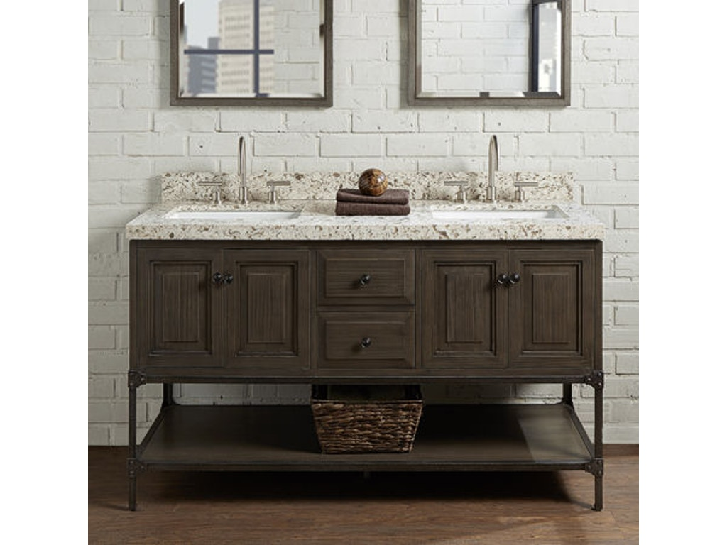 Fairmont Designs Bathroom 60 Inches Double Bowl Vanity 1401 6021d Butterworths Of Petersburg