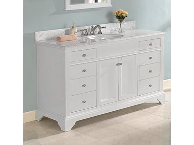 Fairmont Designs 60 Inches Single Bowl Vanity 1502-V60
