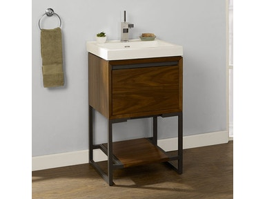 Fairmont Designs 21×18 Inches Open Shelf Vanity 1505-VH2118