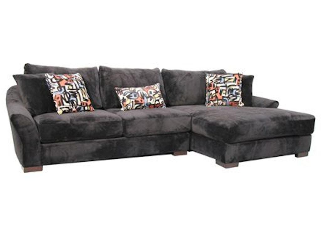 Fairmont designs living room atlanta sectional d3801 sect for Chaise edmonton