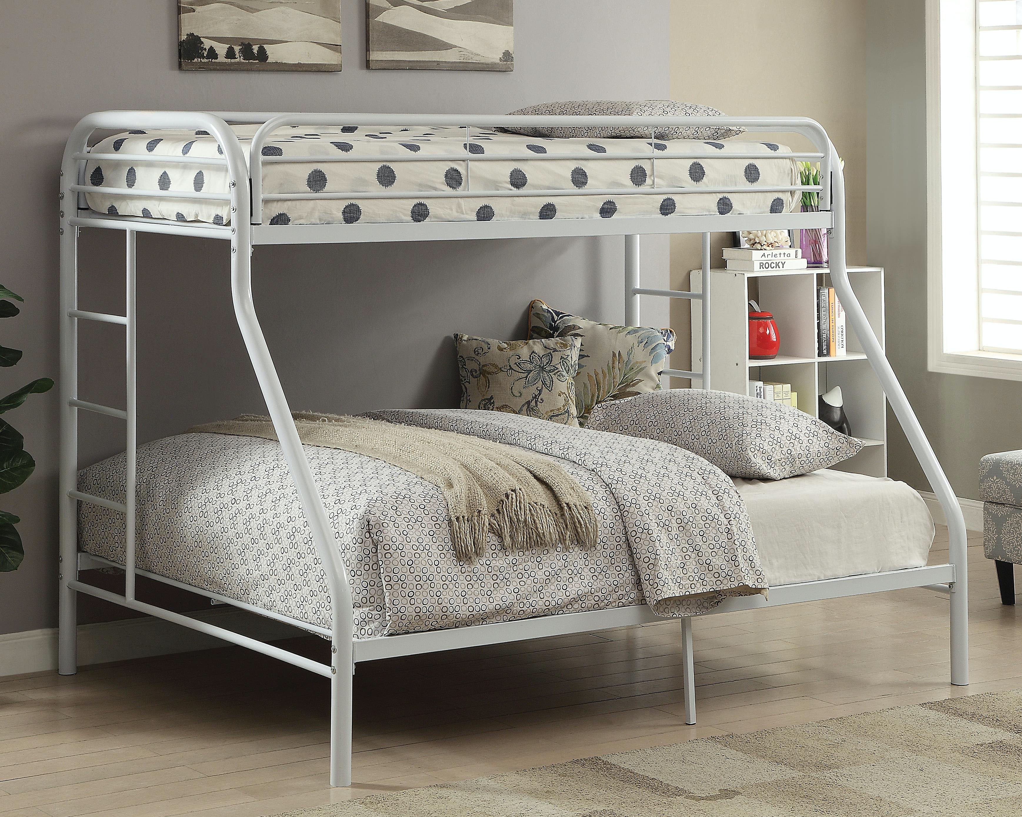 Acme Furniture Youth Bedroom Tritan Twin XL Over Queen Bunk Bed