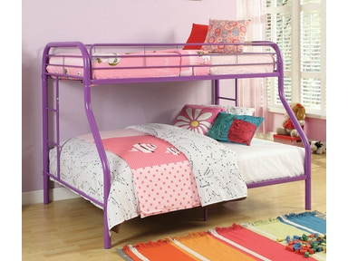Acme Furniture Youth Twin Over Full Bunk Bed 02053pu Great Deals