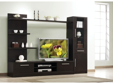 Acme Furniture Malloy TV Cabinet with Drawer 02476