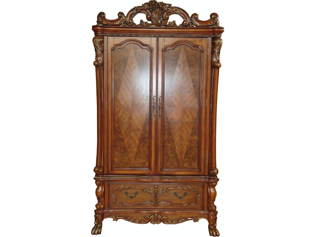 acme furniture home entertainment dresden tv armoire 12147. Black Bedroom Furniture Sets. Home Design Ideas
