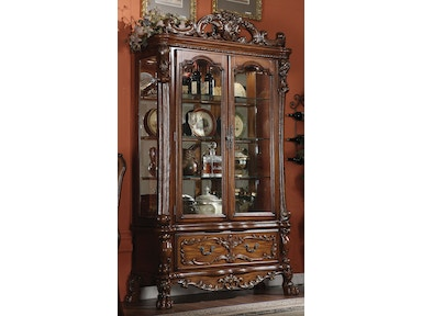 Acme Furniture Dining Room Dresden Curio Cabinet