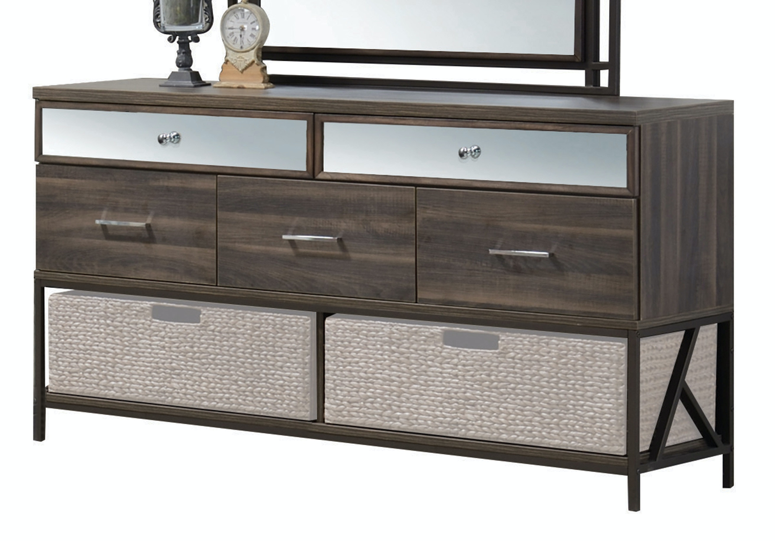 Acme Furniture Bedroom Adrianna Dresser 20955   Furniture Marketplace    Greenville, SC