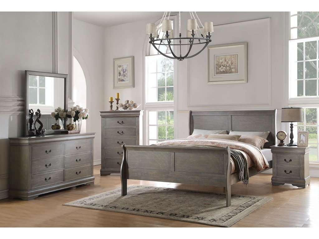 Acme Furniture Bedroom Louis Philippe California King Bed 23854CK ...