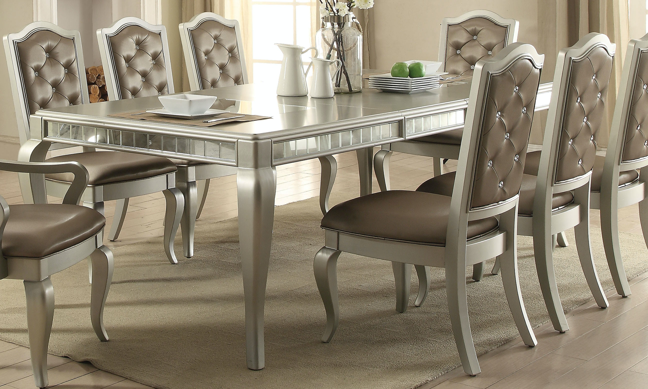Acme Furniture Dining Room Francesca Dining Table
