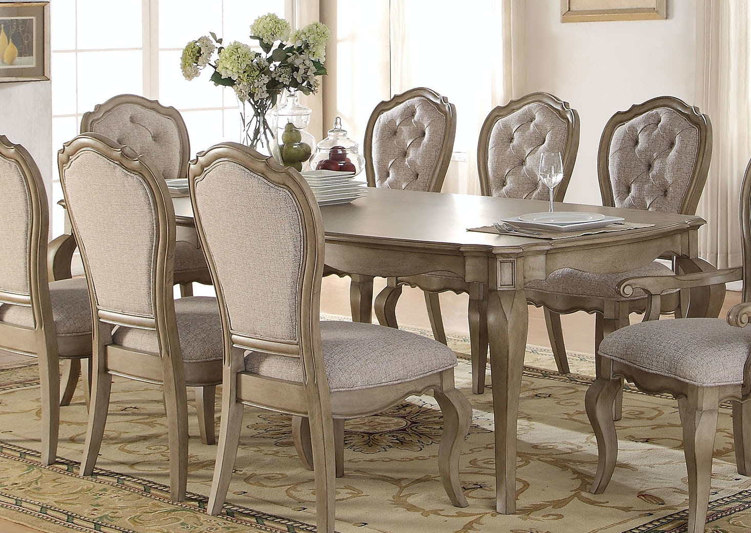 Charming Acme Furniture Dining Room Chelmsford Dining Table 66050   Hi Desert  Furniture   Victorville, CA