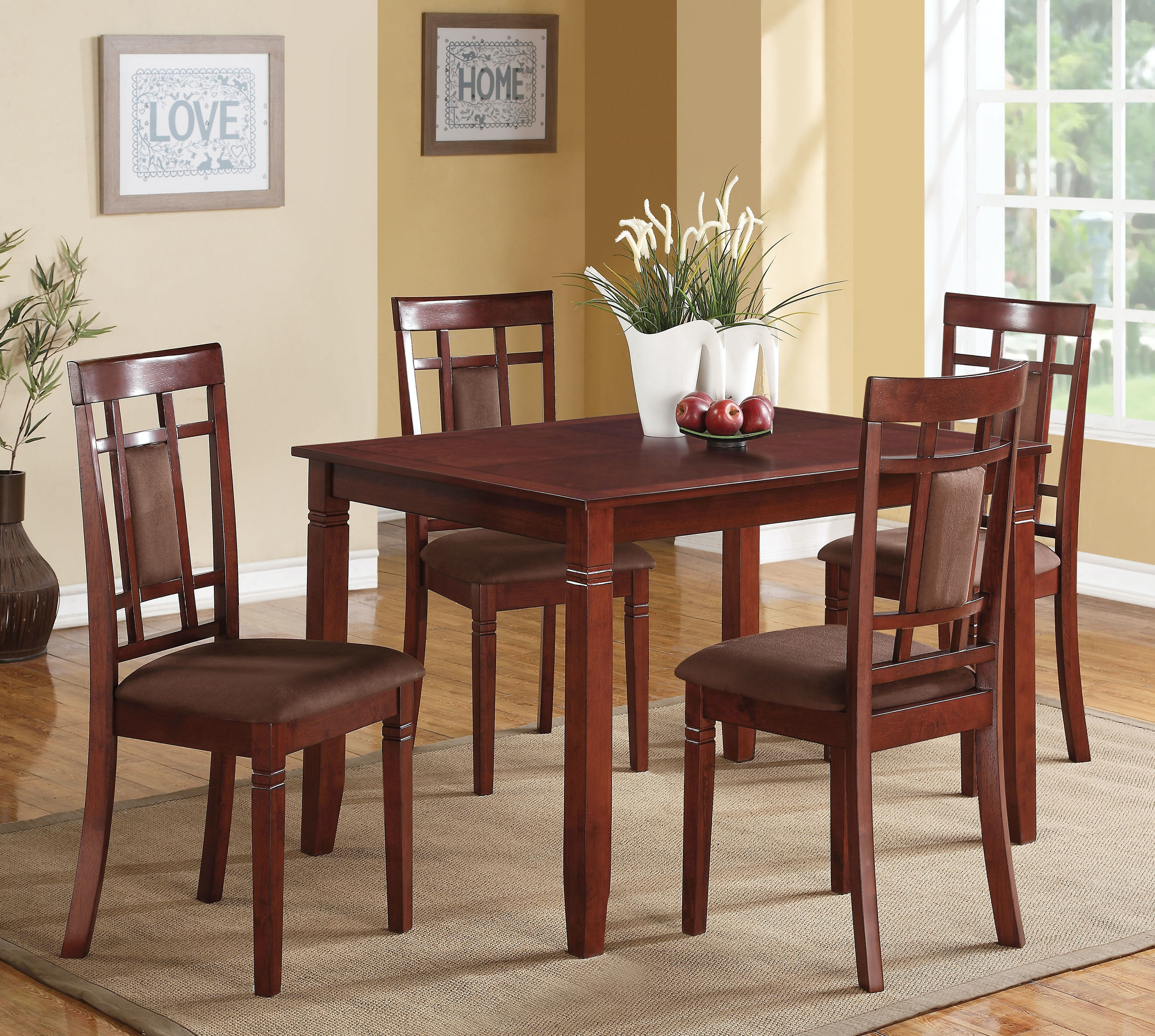 Exceptionnel Acme Furniture Dining Room Sonata 5 Piece Dining Set