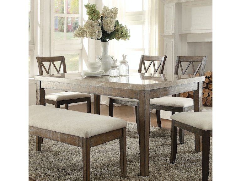 Acme Furniture Dining Room Claudia Table 71715