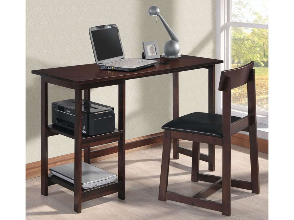 Acme Furniture Home Office Vance 2 Piece Desk Chair 92046 Merinos Home Furnishings
