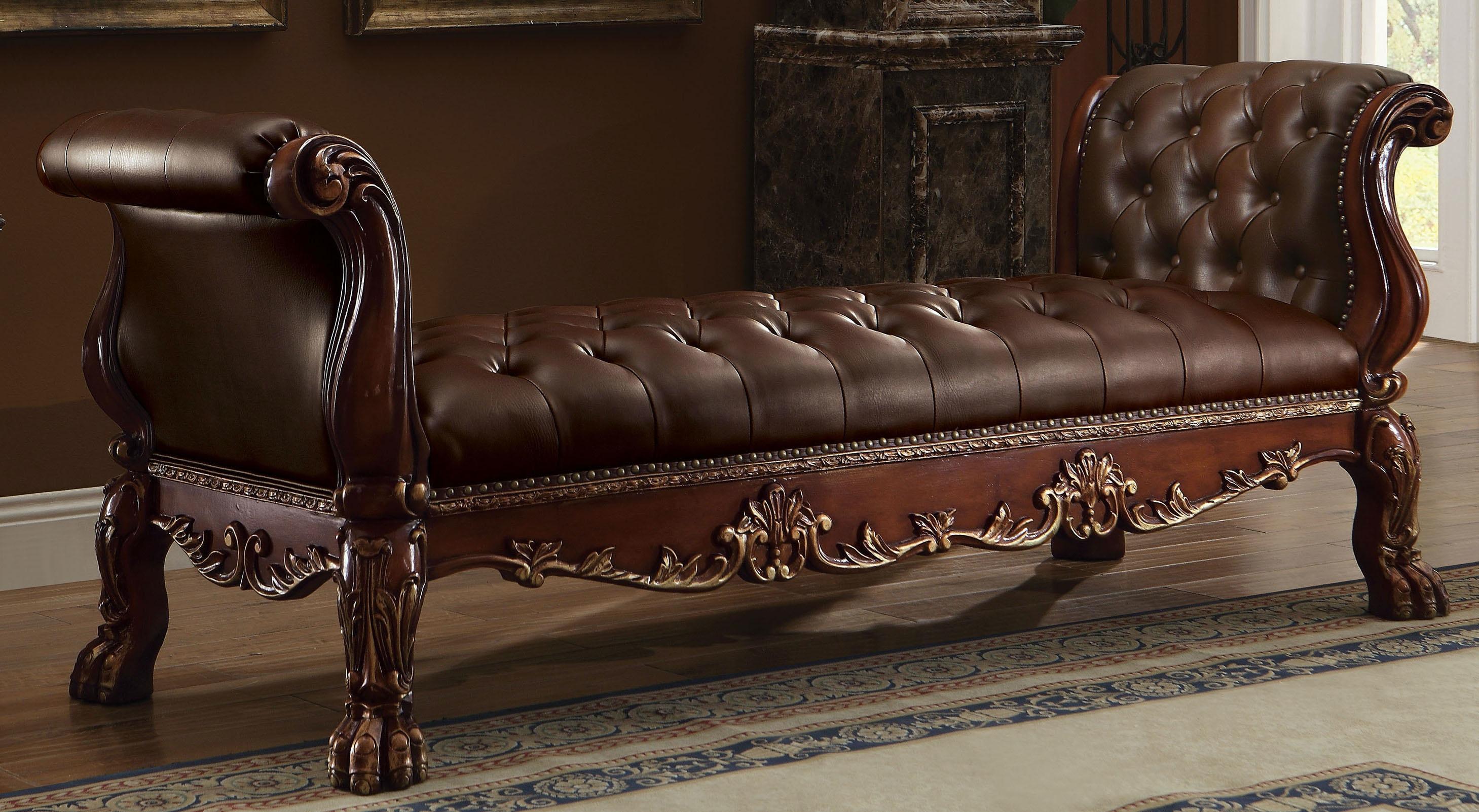 Acme Furniture Living Room Dresden Bench